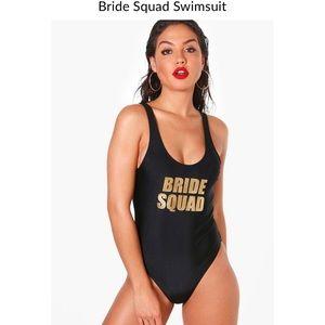 Bride Squad Swimsuit